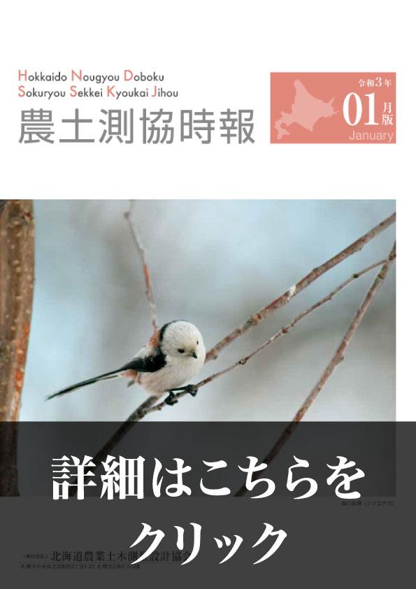 令和3年1月版 農土測協時報(PDF)